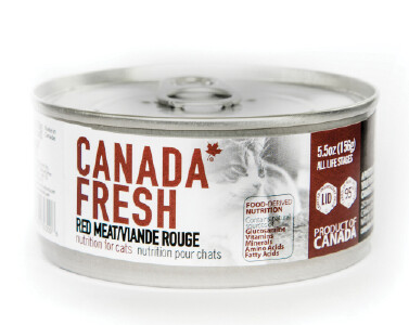 Canada Fresh Cat Food Canned Red Meat 156g (24pk)