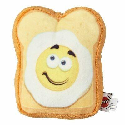Spot Plush Fun Food Eggs on Toast 4.75