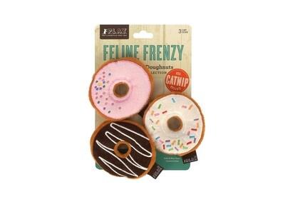 P.L.A.Y. Feline Frenzy Kitty Kreme Doughnuts 3pk