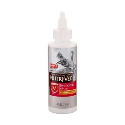 Nutri-Vet Eye Rinse for Cats 118ml