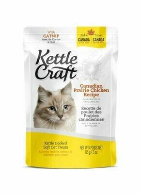 Kettle Craft Soft Cat Treats Prairie Chicken 85g