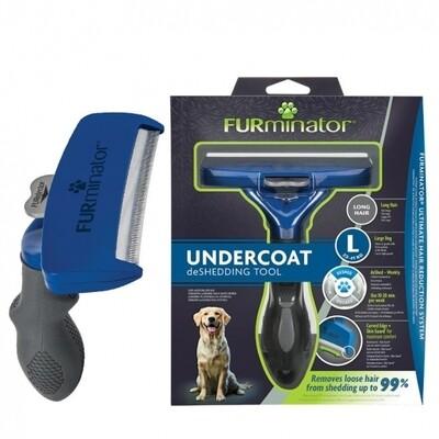 FURminator Undercoat Deshedding Tool Long Hair