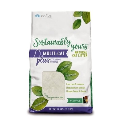 Sustainably Yours Multi-Cat Plus Litter