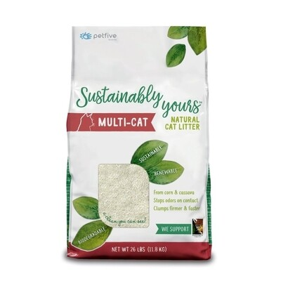 Sustainably Yours Multi-Cat Litter