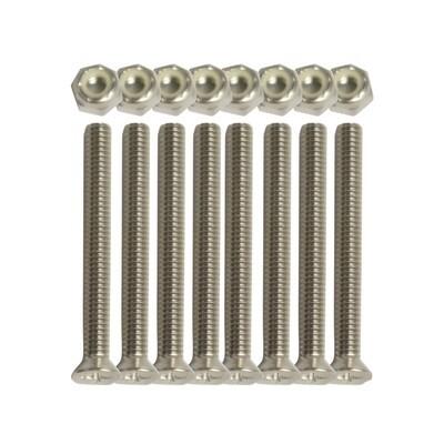 Kuranda Standard PVC Bed Screw & Nut Set (4 sets)