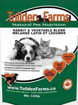 Tollden Farms Rabbit & Vegetable 3lb/1.36kg