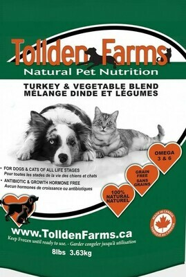 Tollden Farms Turkey & Vegetable