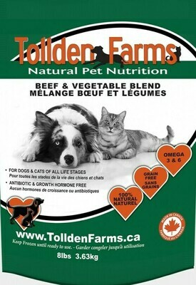 Tollden Farms Beef & Vegetable Blend