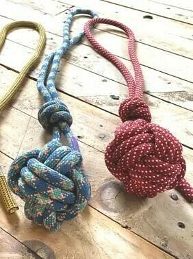 Cliffhound Monkey Fist Knot Ball Tug Dog Toy