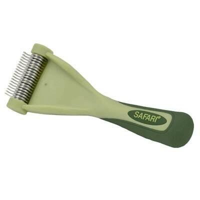 Safari Shed Magic De-Shedding Tool Cat Long Hair