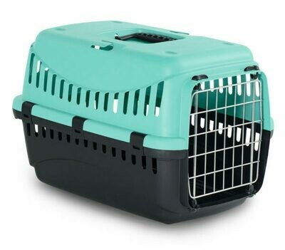 Bergamo Gypsy Plastic Pet Carrier with Metal Door