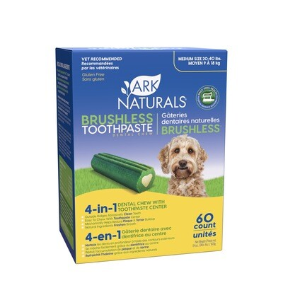 Ark Naturals Brushless Toothpaste Dental Chews