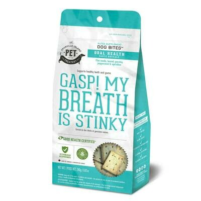 The Granville Island Pet Treatery Gasp!  My Breath is Stinky 240g