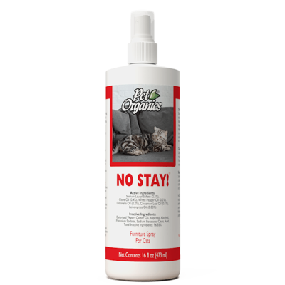 Pet Organics No Stay! Furniture Spray for Cats 473ml
