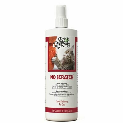 Pet Organics No Scratch Spray 473ml