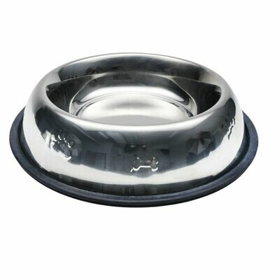 Maslow Non-Skid Embossed Stainless Steel Bowl 473ml