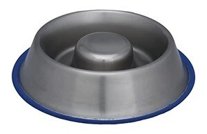 Nourish Stainless Steel Slow Feed Bowl 1.33L