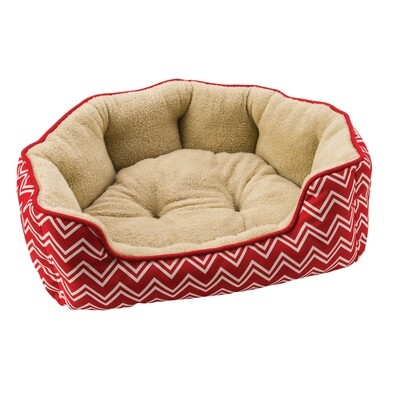 Spot Sleep Zone Chevron Scallop Shape Bed