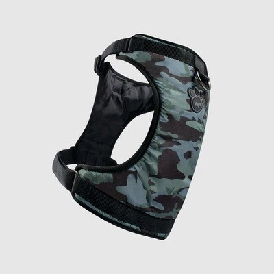 Canada Pooch Everything Harness Water Resistant Camo