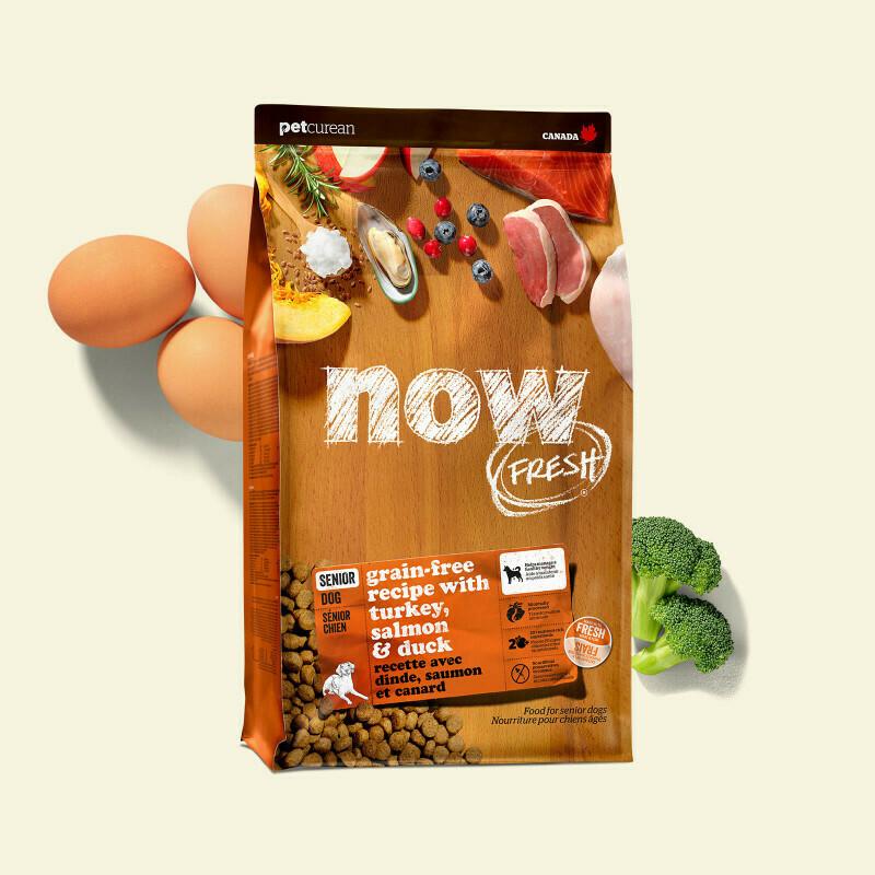 NOW FRESH Dog Food Grain-Free Senior/Weight Management
