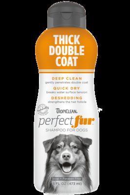 TropiClean PurfectFur Shampoo Thick Double Coat Coat 473ml
