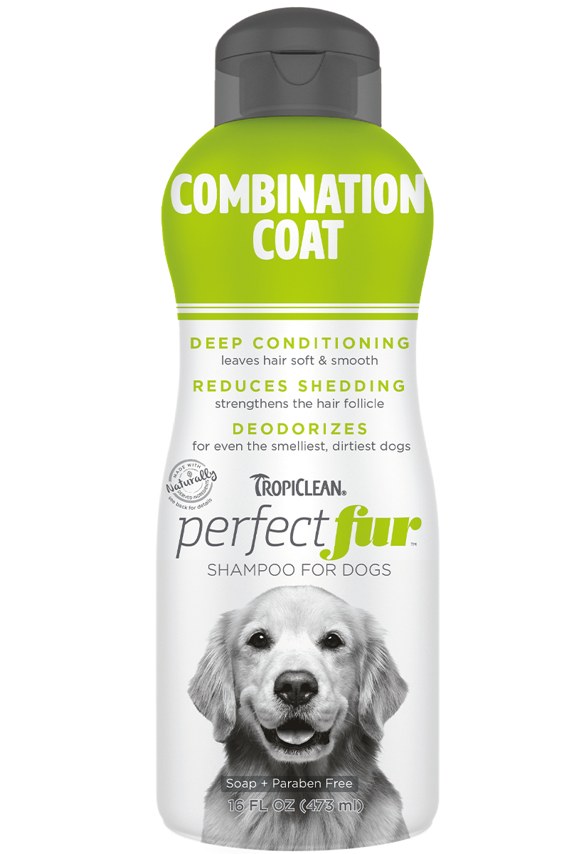 TropiClean PurfectFur Shampoo Combination Coat 473ml