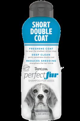 TropiClean PurfectFur Shampoo Short Double Coat Coat 473ml