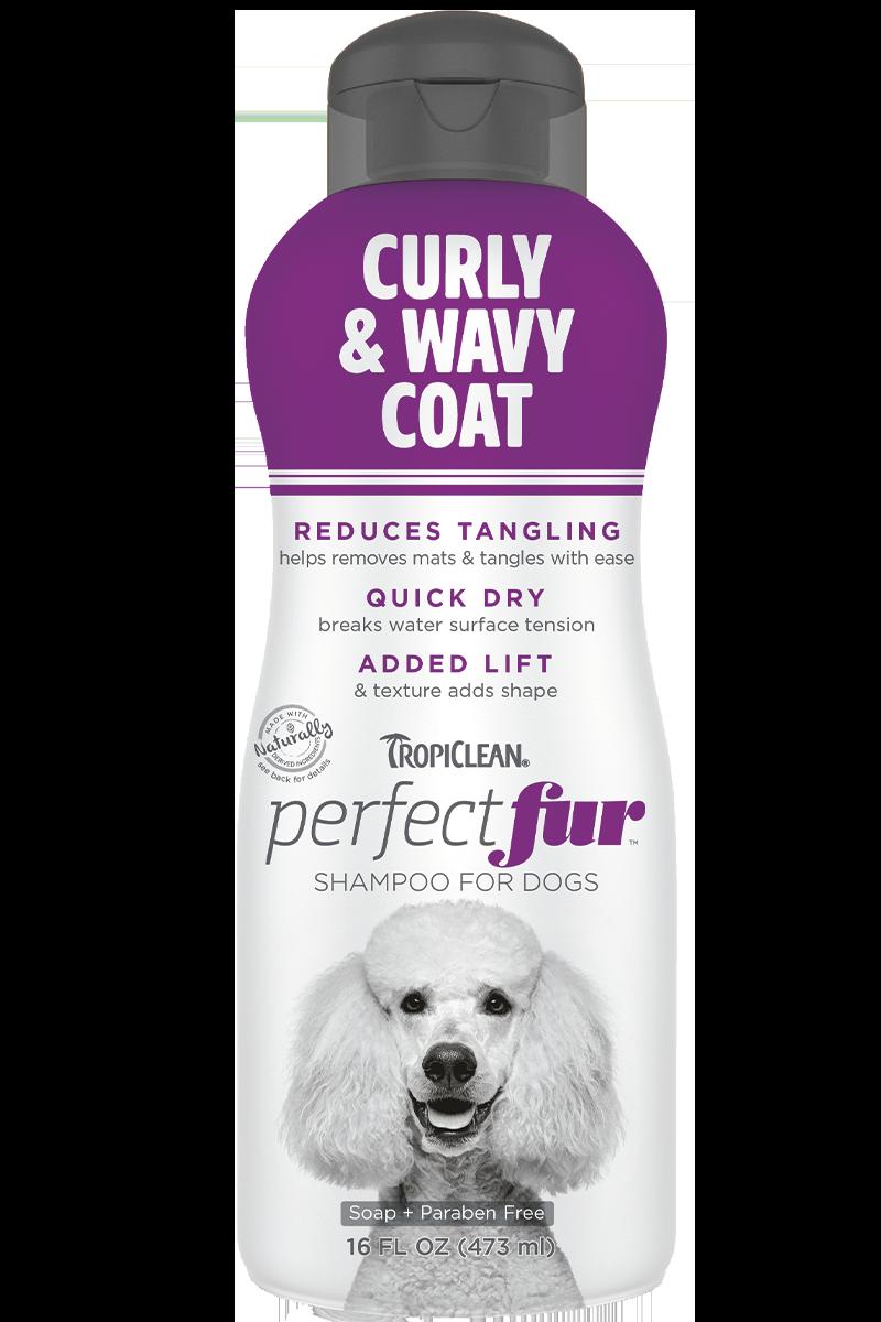 TropiClean PurfectFur Shampoo Curly & Wavy Coat 473ml