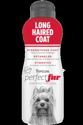 TropiClean PurfectFur Shampoo Long Haired Coat 473ml