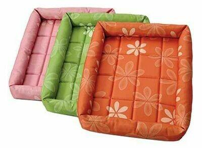 MidWest Quiet Time Defender Series Bed Paradise Floral Orange 42