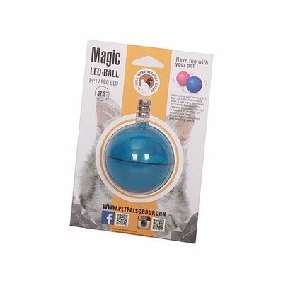 PetPals Magic LED Cat Ball Blue