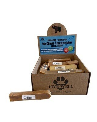 Live Well Pets Himalayan Yak Cheese Chews