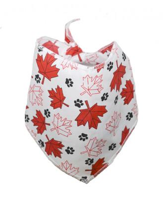 Bandanas Unlimited Canada Day Maple Leaf Bandana