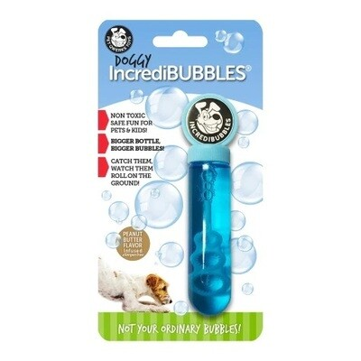 Pet Qwerks Peanut Butter Incredibubbles for Dogs 38ml