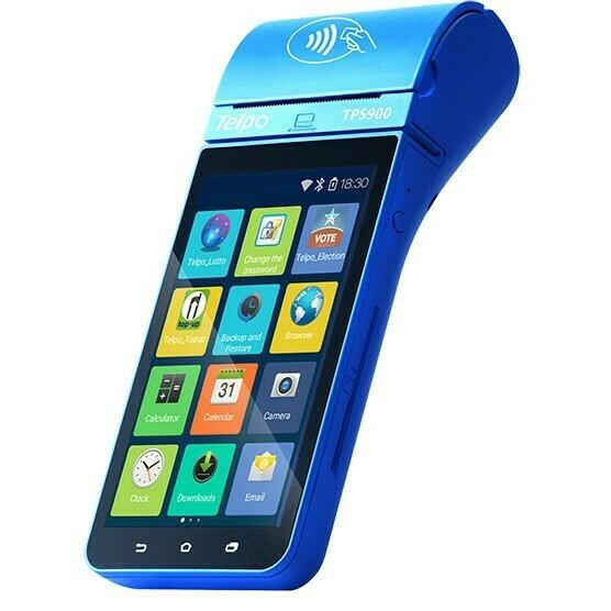 POS Phone Device With Printer