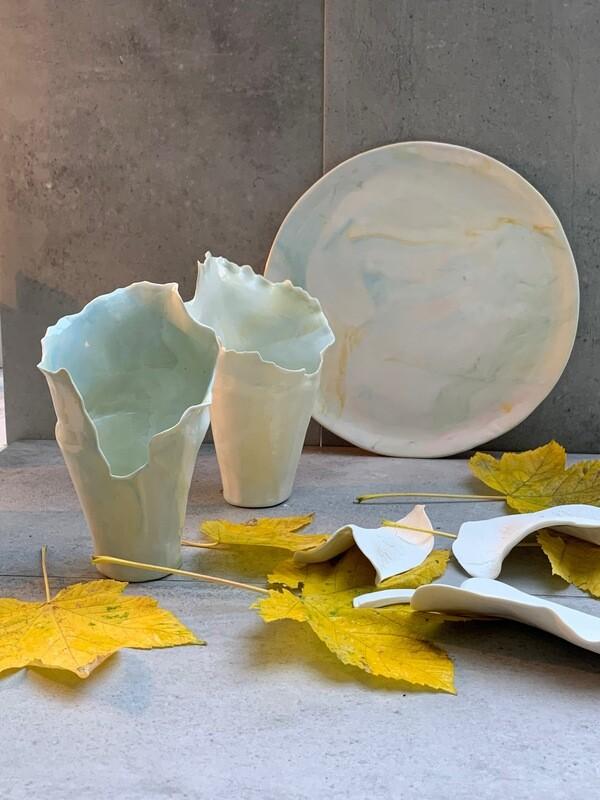 vase envole toi «marbrerpastel»