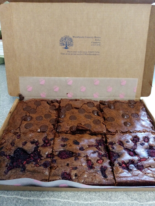 Brownies by post