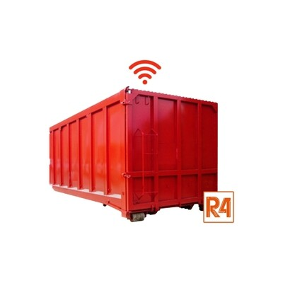 R4 Tracking for container