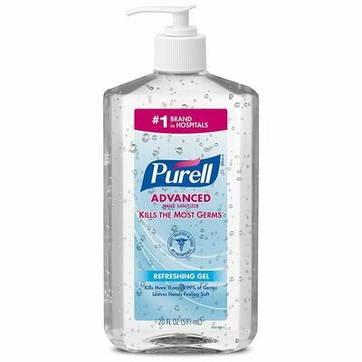 Purell Advanced Instant Hand Sanitizer 20oz