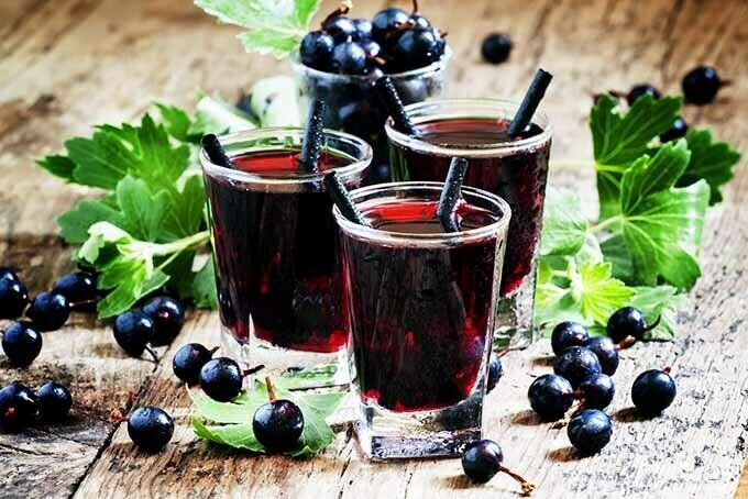 Black Currant Absinthe Melts