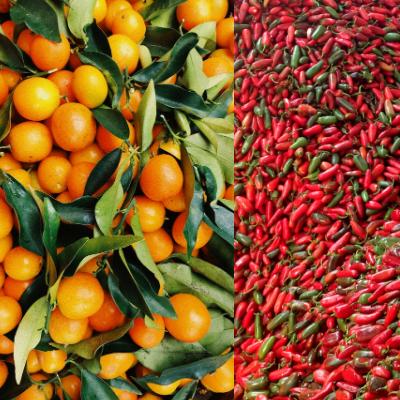 Orange & Sriracha Melts
