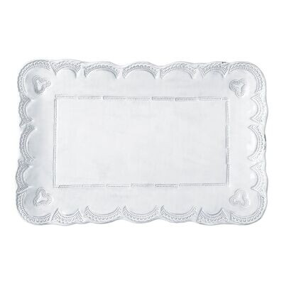 Incanto Lace Rectangular Platter (FR)