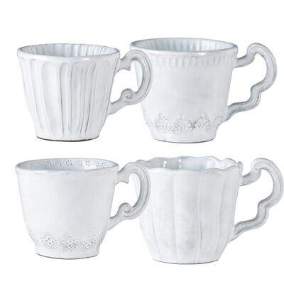 Incanto Assorted Mug Set of 4 (FR)