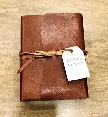 Roma Lussa leather journal