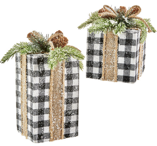 Checkered Presents (set of 2)