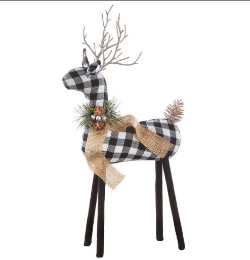 """20"""" Checkered Deer"""