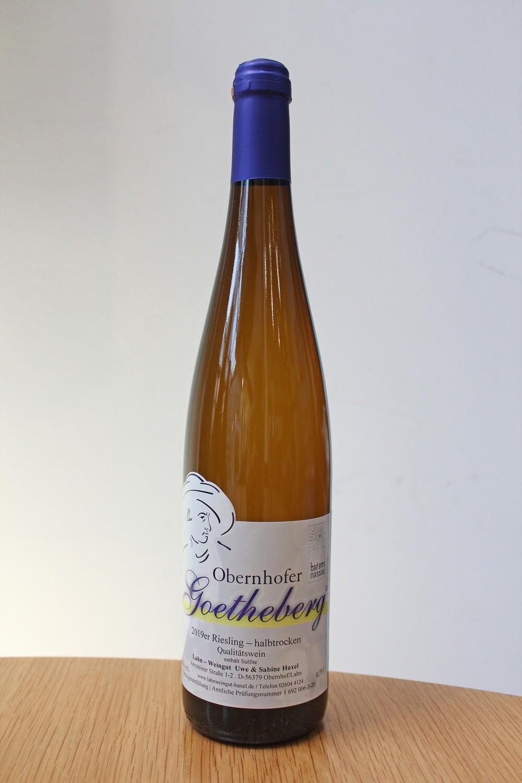 Obernhofer Goetheberg 2019, Riesling halbtrocken