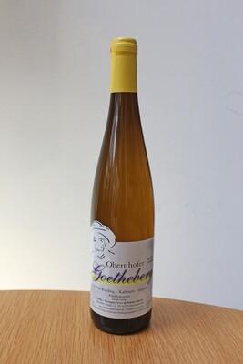 Obernhofer Goetheberg 2018, Riesling, Kabinett, trocken