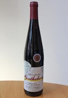 Obernhofer Goetheberg 2018, Spätburgunder