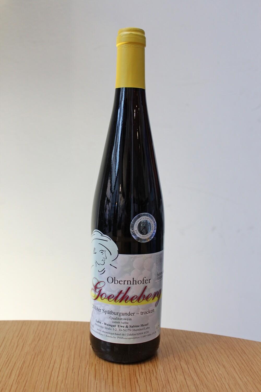 Obernhofer Goetheberg 2018, Spätburgunder trocken